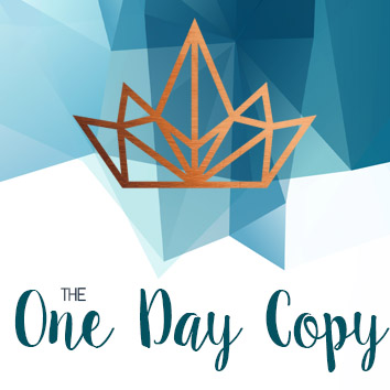 One Day Copy with Stephanie Ostermann
